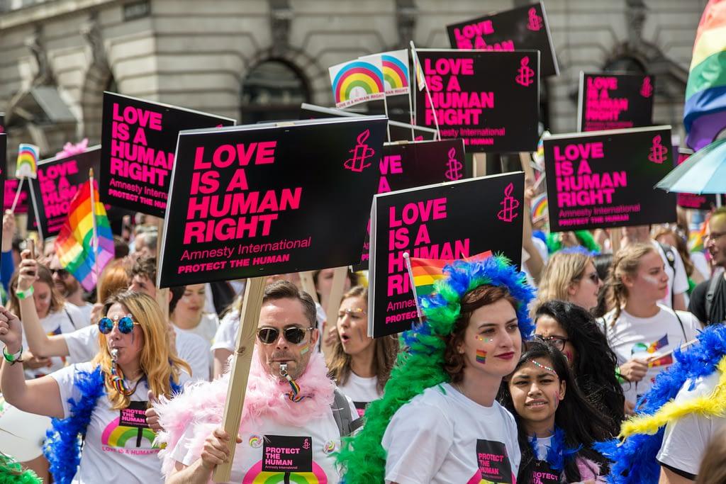 Pride month 2021 - Photo by Ian Taylo on Unsplash