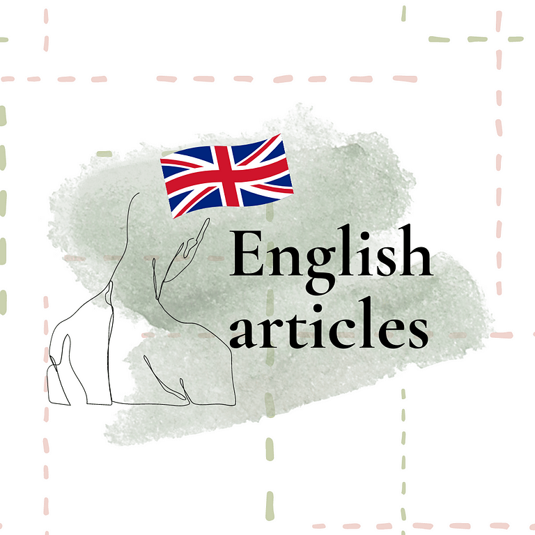 Banner english articles