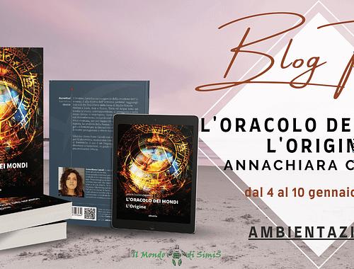 Banner Blog tour L'oracolo