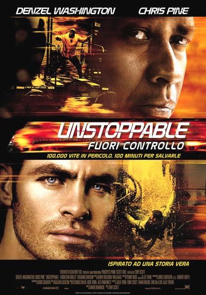 Unstoppable - Fuori controllo - locandina