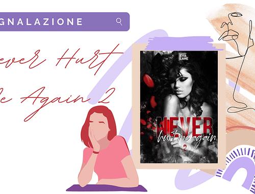 Romanzo rosa: «Never hurt me again 2» di Eva Lane!