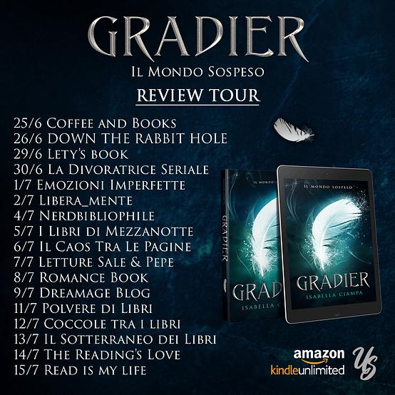 Calendario Review tour Gradier.
