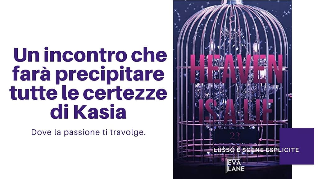 5 libri darkromance da leggere: Heaven is a lie di Eva Lane